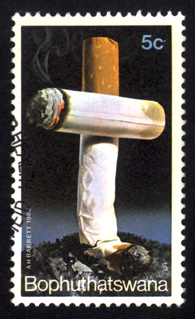 Stamps Smoking
